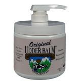 Unscented Original Udder Balm 16 oz pump jar SKU 90123